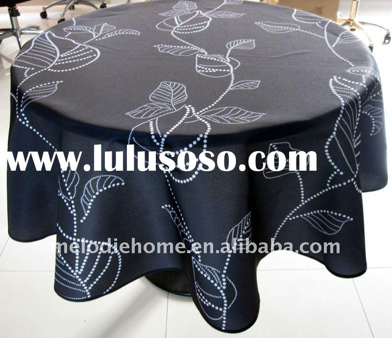 100% Polyester Printed Table Cloth (home textile)