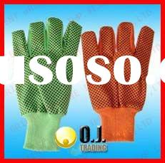 10 OZ PVC Dotted Working Glove
