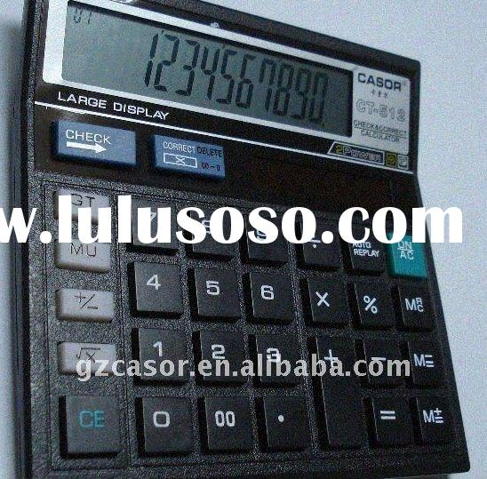 12 digits large big display desktop calculator CT-512