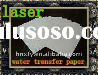 2011 Transparent Laser Water Transfer Paper