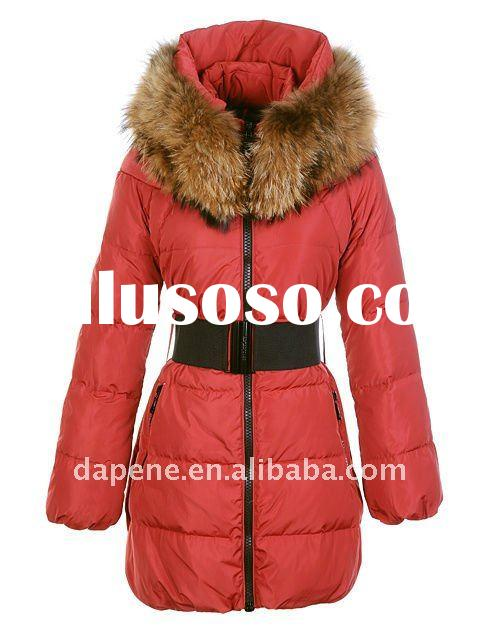 Red Women Long Style Winter Down Coat Hot! New!