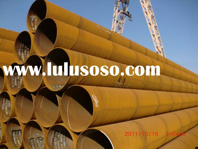 Bare carbon steel welded pipes
