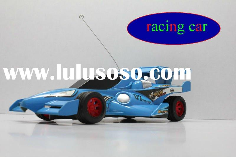 super speed racing sport rc car toy 1:24 scale blue color