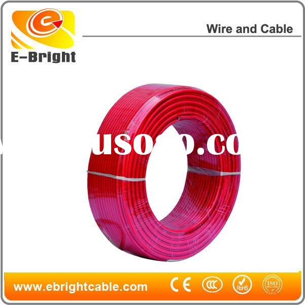1.0mm2 BV Power Cable Solid Copper Single Core