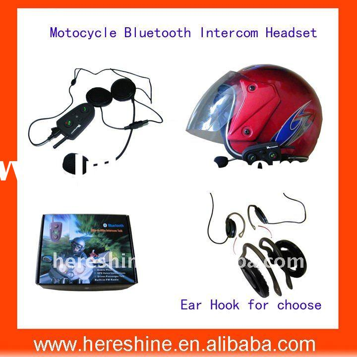 500M Motorcycle Bluetooth Helmet Interphone