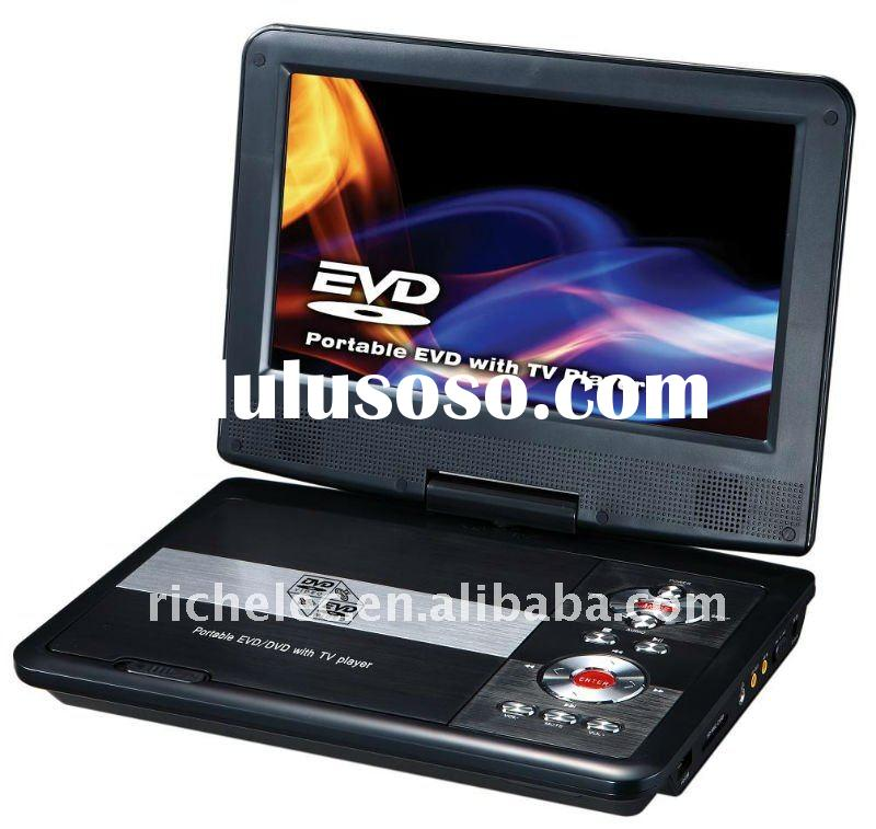 9 inch Portable dvd player with digital TV tuner, DVB-T, ISDB-T, LCD screen, USB, FM, Game for Chris