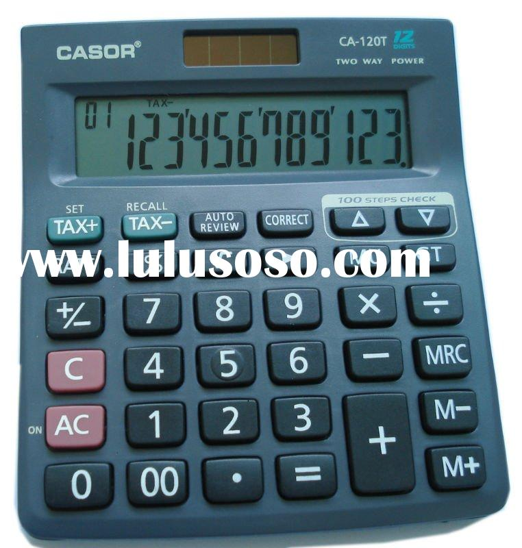 CALCULATOR CA-120T