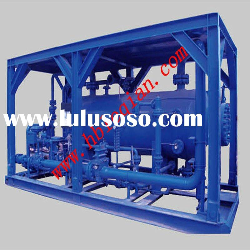 Oil gas water three phase separator