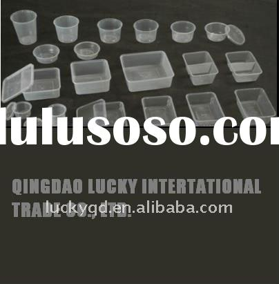 PP Rectangular / Round plastic food containerwith lids