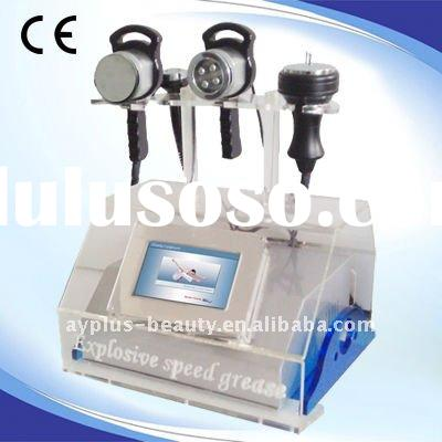 Portable ! Hot!! Cavitation+Vacuum+ RF+ BIO Weight loss machine AYJ-A823B