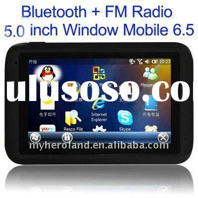 SH-002,5inch Windows mobile 6.5 MID with GPS.Bluetooth.FM radio