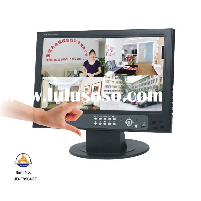 15.6inch Touch Screen CCTV Standalone security 4CH DVR JD-F8504CP