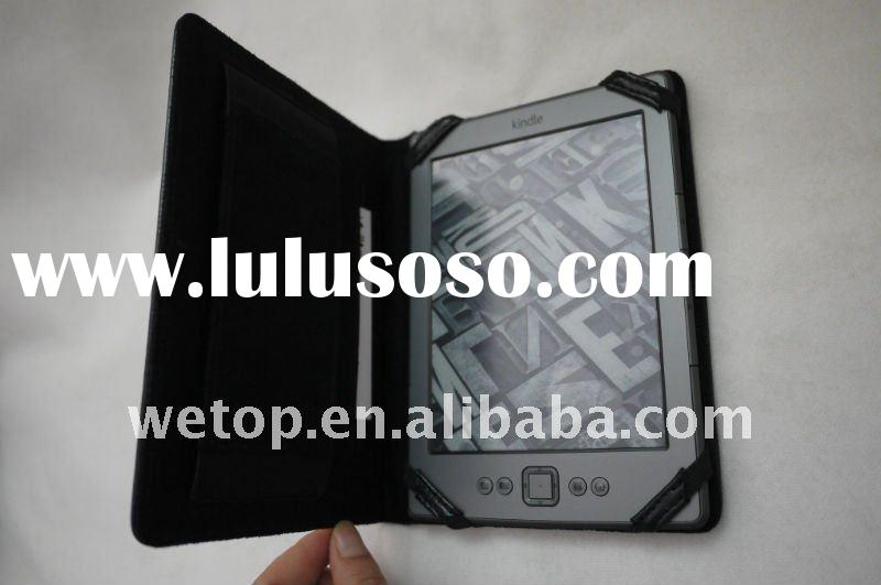 HOT leather case for kindle 4 / kindle touch / kindle fire