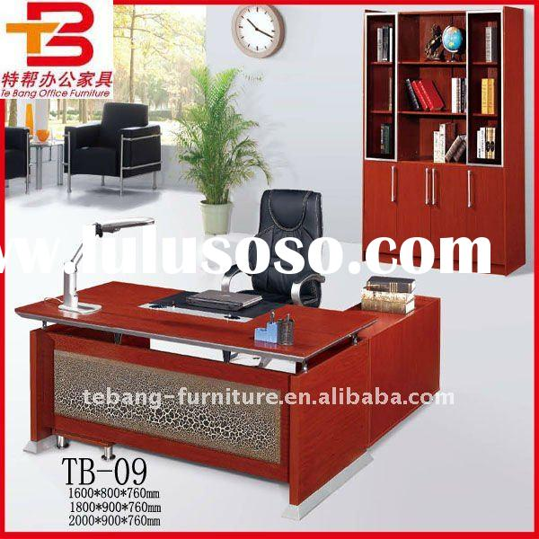Red cherry office furniture,Offie Desk Set TB-09