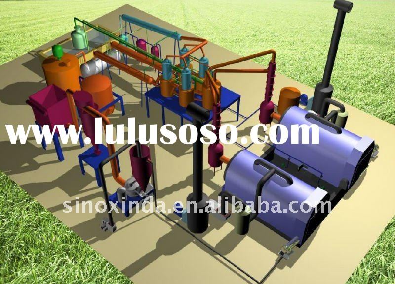 XD-01 Waste Rubber Pyrolysis Plant