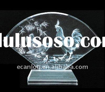 award arylic entrapment laser etched