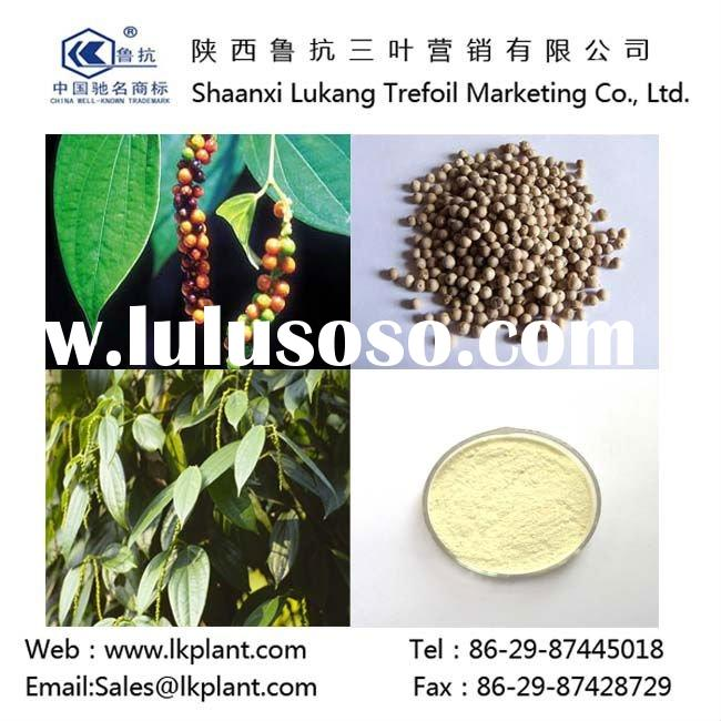 chinese Pure Nature Black Pepper Extract piperine(GMP.HACCP)