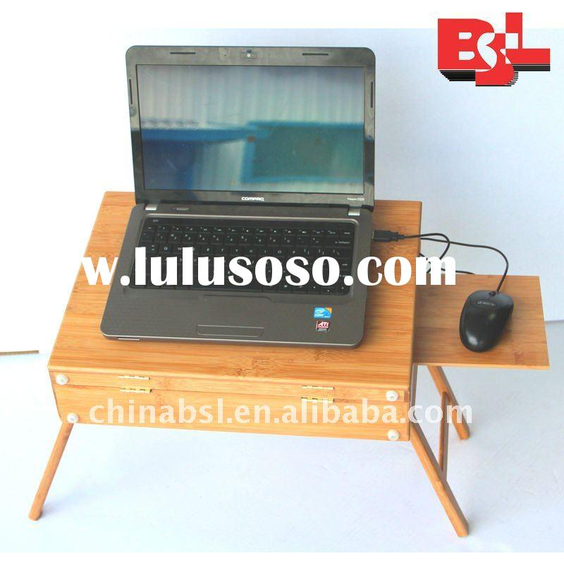 fashion style folding easy carried bamboo desk