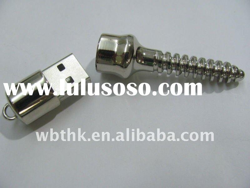 oem screw metal  usb for promotional