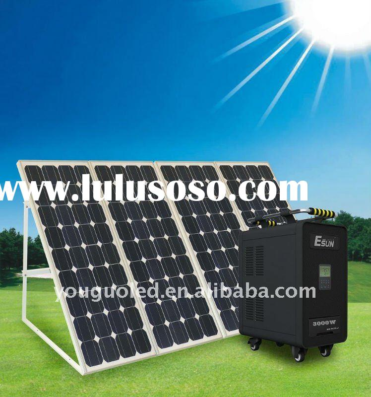 3000W inverter High Power Portable Solar Power System