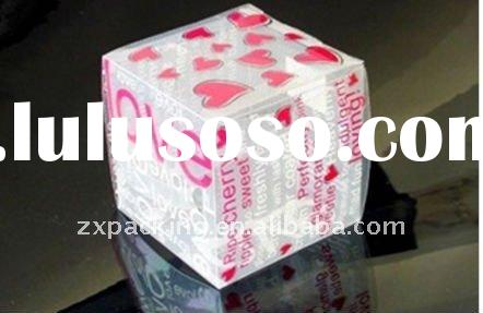 Cute and High quality clear pvc boxes