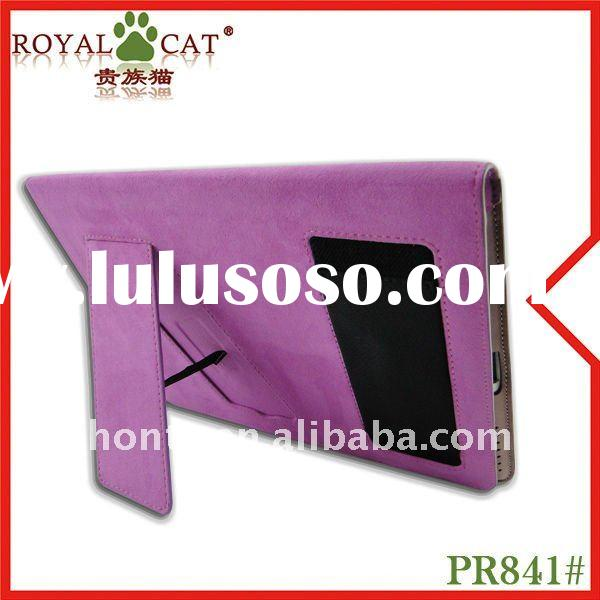 High quality genuine leather case for ipad2