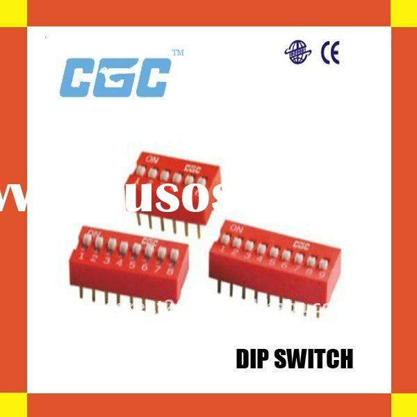RED DIP SWITCH CGC