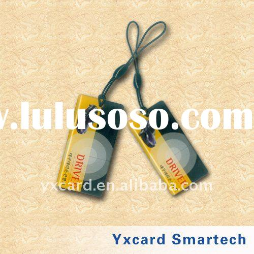 T5577 business cards with epoxy and sling