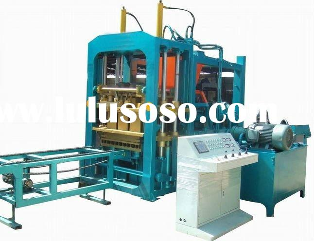concrete blocking machine blocking machine hollow brick making machine