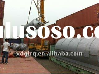 the 4th generation production of waste rubber recycling machinery