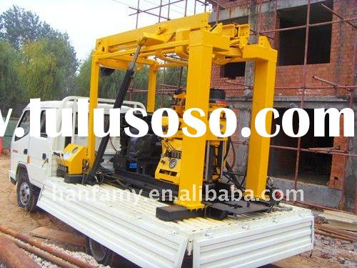 2011 hot small hydraulic drill, HFT200 truck-mounted drilling rig