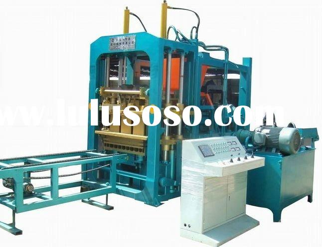 6-15Aconcrete blocking machine blocking machine hollow brick making machine