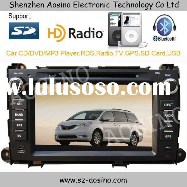 """8"""" 2DIN Special Car DVD for TOYOTA Sienna 2004-2010"""