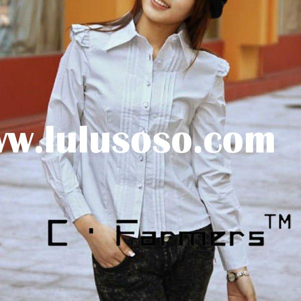 Casual women shirt with long sleeve design