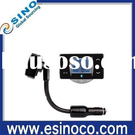 FM transmitter with bluetooth handsfree function & free shipping