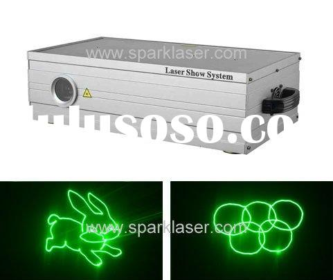 High Quality Green Animation  Laser Projector