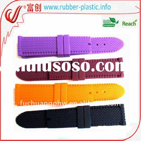 Hot Silicone Belt with metal clasp stock wholesale $0.13-$ 0.28/pc
