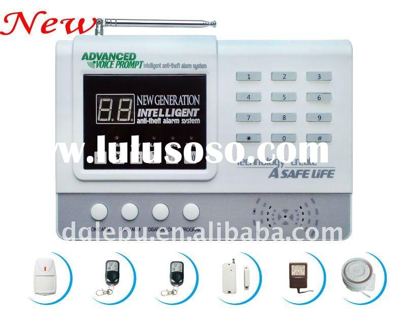 Hot sale new technology wireless digital home burglar alarm system security 99 defense zones alarm s