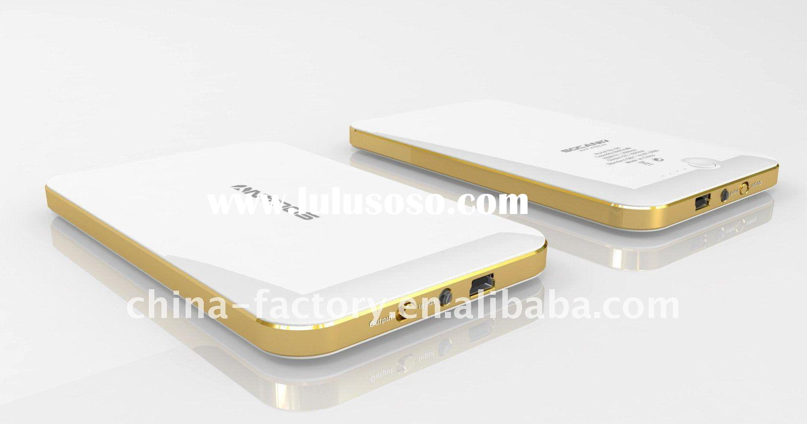 NEW ARRIVAL5000mAh Portable Power Bank charger for iPhone, iPad, iPod, Blackberry