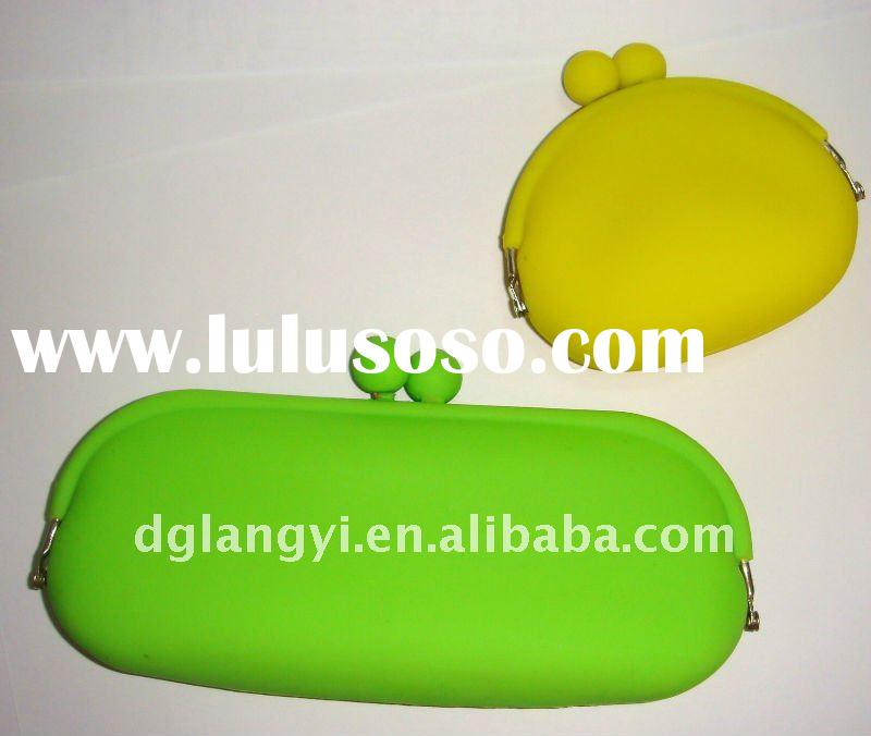 Silicone Ladies Coin Wallet