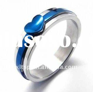 TR007 fashion Custom magnetic therapy titanium/stainless steel ring
