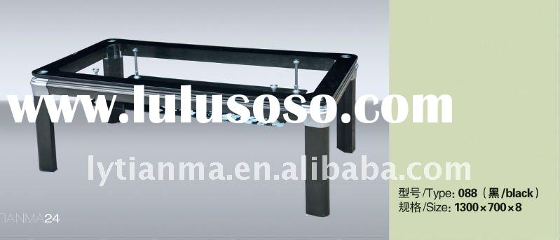 good quality low price glass table