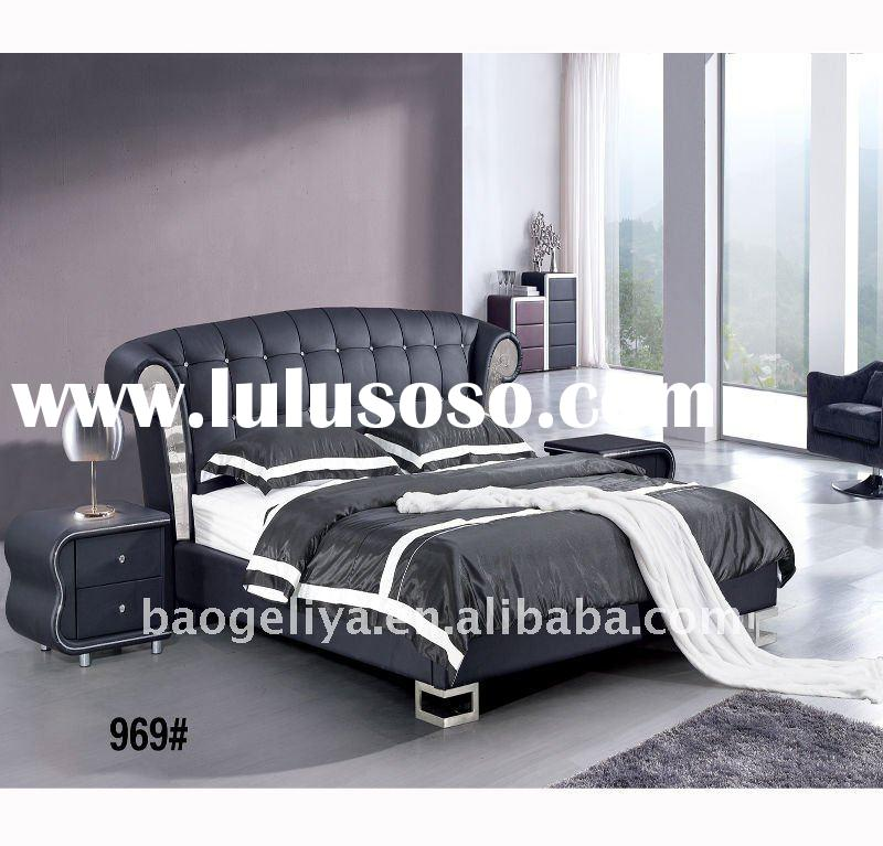 hot sale cow leather bed 936#