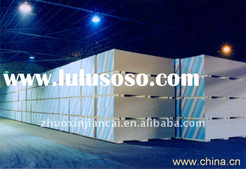 hot sell gypsum board 1200x2400x12mm for partition