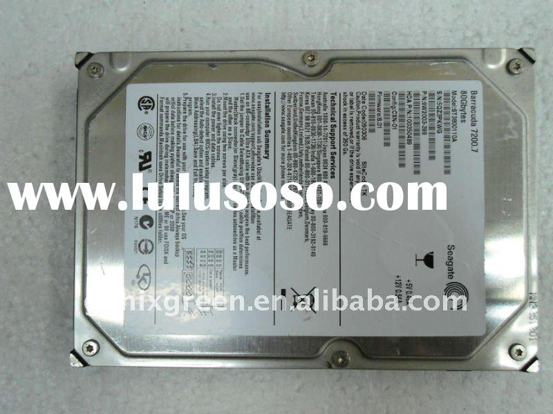 "stock 80g sata hard drive for desktop,3.5"" used and clean"