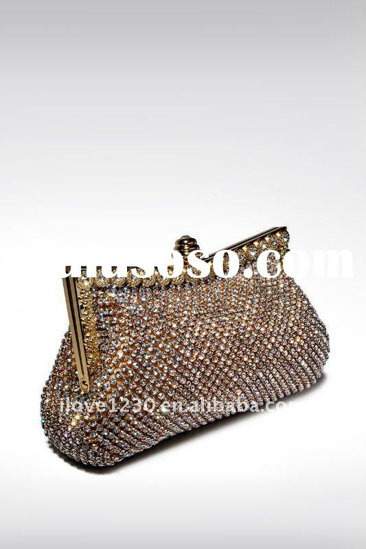wholesale crystal evening bag