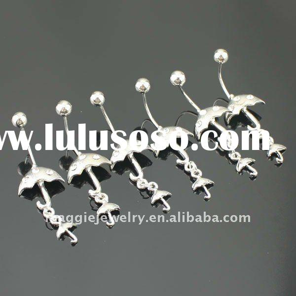 2011 wholesale Stainless steel body jewelry piercing