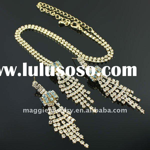 2011 wholesale indian bridal jewelry sets