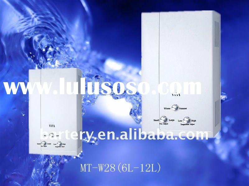 6L~12L open flue type gas water heater