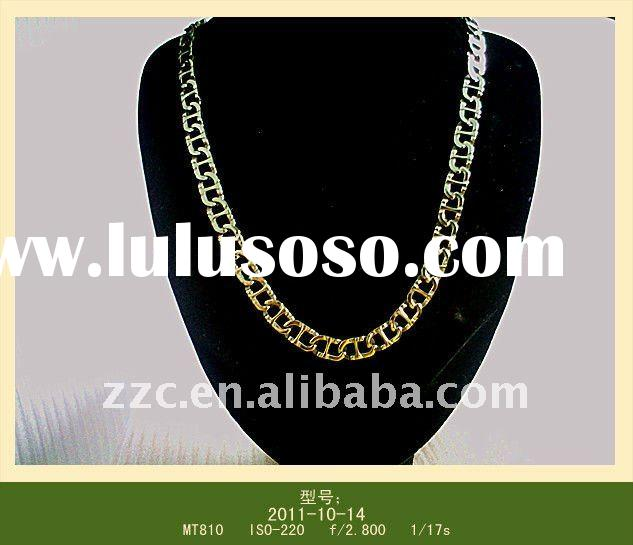 Global fashion stainless steel necklace